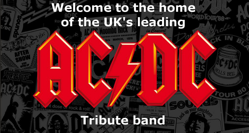 Welcome to the home of the UK\'s leading AC/DC tribute band